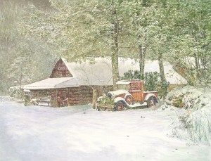 Corky Coldman, Mountain Morning, Award: Patron Fine Art Award, Awarded by Richeson School of Art American Frame Co.