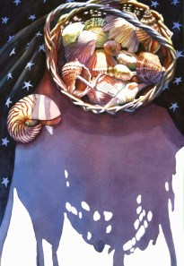Ardythe Jolliff, Stars, Shells, And Shadows, Award: Tallahassee Watercolor Society Award