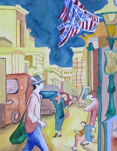 Virginia Wolfe, Yankee Doodle Dandy