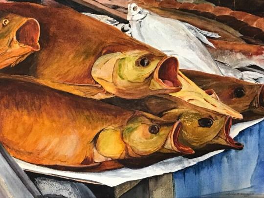 """Johnson, T, """"Russian Smoke House Fish"""""""