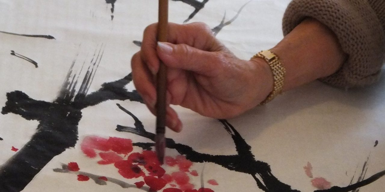 Philomena Yong-Too – Free  Traditional Chinese Brush Style Demonstrations – Wed 1 April, 2020