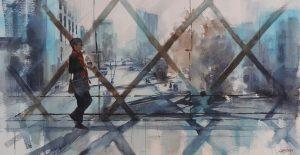 Sue Hibbert - Solo Exhibition - Urban Spaces