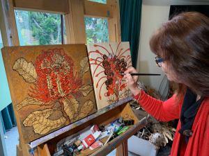 Sandie Schroder - Burned & Turned Exhibition - Linton & Kay Galleries - Swan Valley