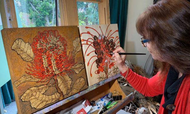 Sandie Schroder – Burned & Turned Exhibition – Linton & Kay Galleries – Swan Valley