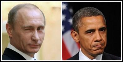 Vladamir Putin and President Obama