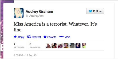 terror tweet