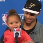 Stephen Curry's Daughter Trolls Media, Quotes Big Sean
