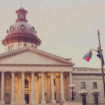 Bree Newsome, A Black Woman, Climbs a 30-foot Flag Pole, Still Can't Be Seen