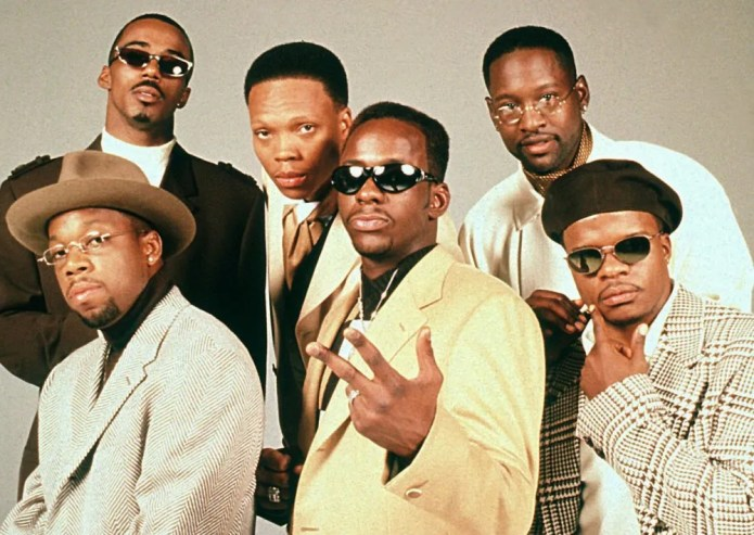 New Edition, one of the best R&B groups from the 80's-90's