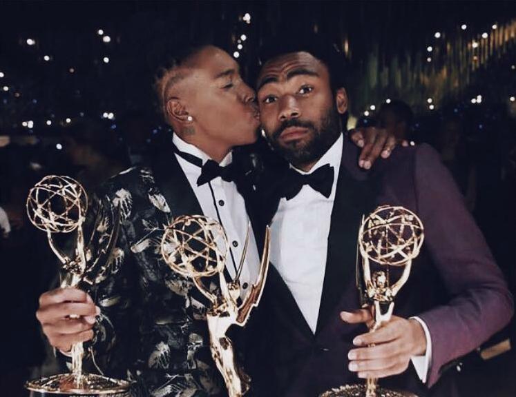 Lena Waithe, Donald Glover, Emmys