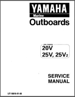Yamaha LIT-18616-01-66 Outboard Service Repair Manual