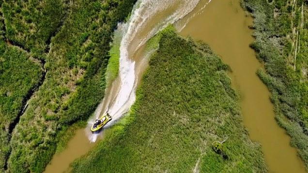 DJI Mavic Pro Sea-Doo Swamp Drone