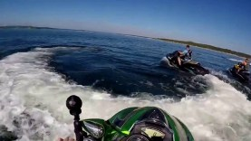 Canyon Lake Texas riding pwc's Oct 30,2016