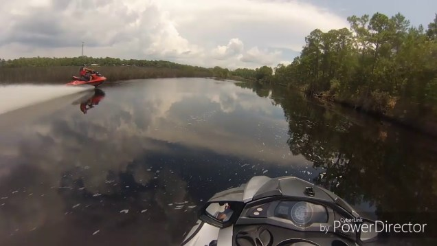 Creek riding in North FL with a Yamaha and two Sea-Doos