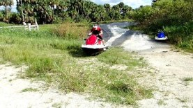 Epic Jet Ski Stick Marsh Ride