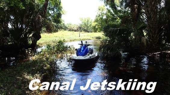 Jetskiing Narrow, Remote Canals on the St. Johns River
