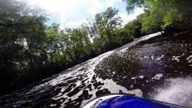 Narrow twisty Haw Creek, Florida jetski ride 1080p 60 fps