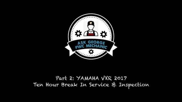 "WCWCC ""ASK GEORGE the PWC MECHANIC"" Episode 5"