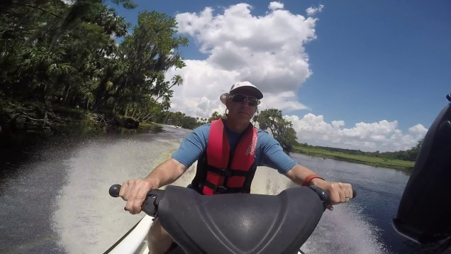 Florida Jetski Ride – Ducking Under Trees on the Econ River