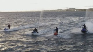 Jet Ski'ing on the Tay.