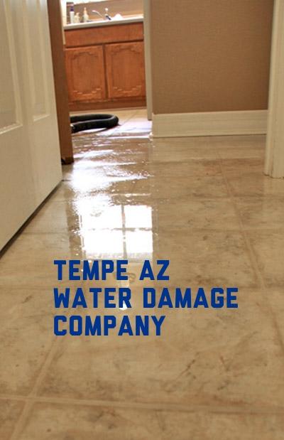 Tempe AZ water damage company