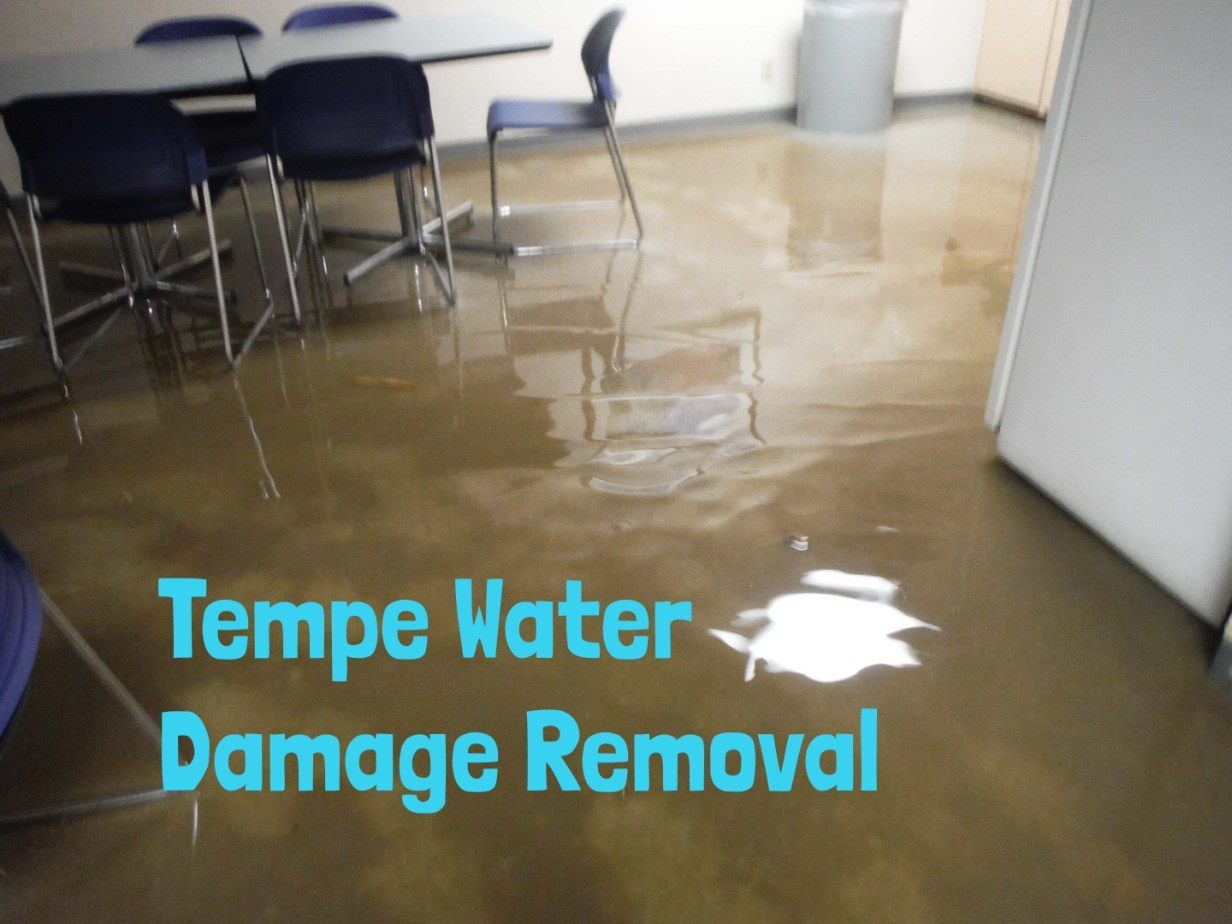 Tempe Water Damage Removal