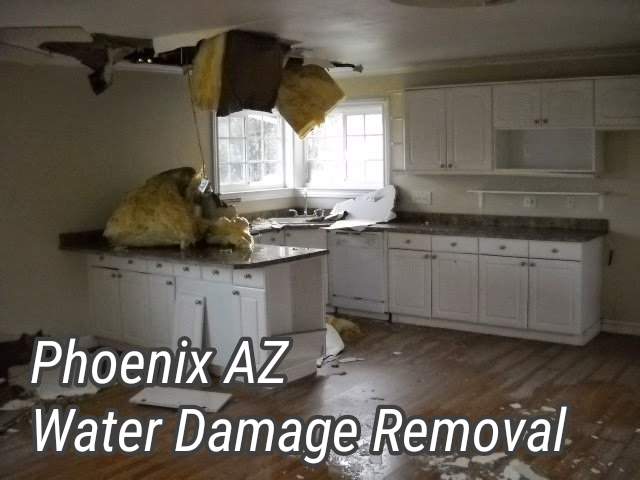 Phoenix AZ Water Damage Removal