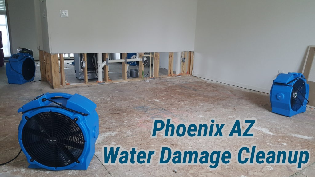 Phoenix AZ Water Damage Cleanup
