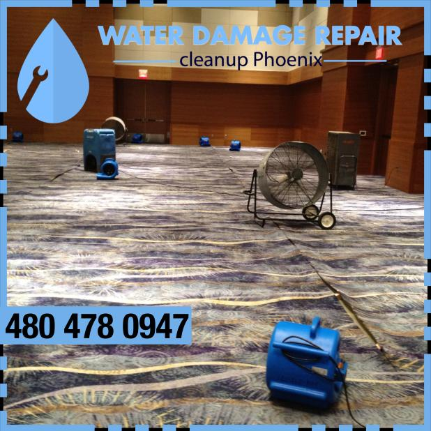 water damage phoenix AZ Commercial Restoration Company 394