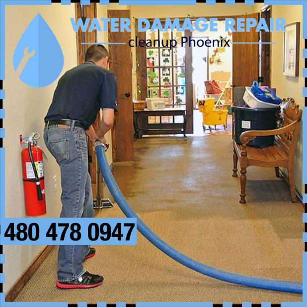 water damage phoenix AZ Commercial Restoration Company 396