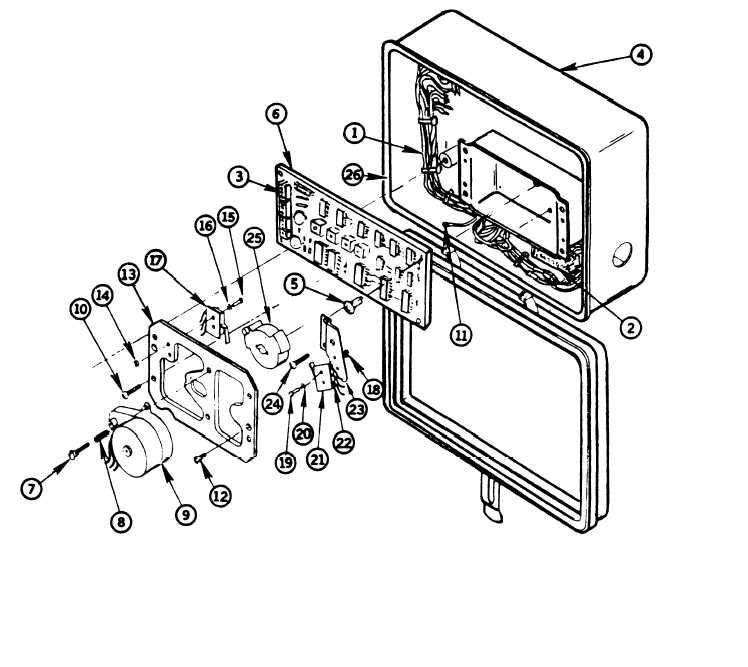 Figure 3-23. Backwash Timer Printed Circuit Board and
