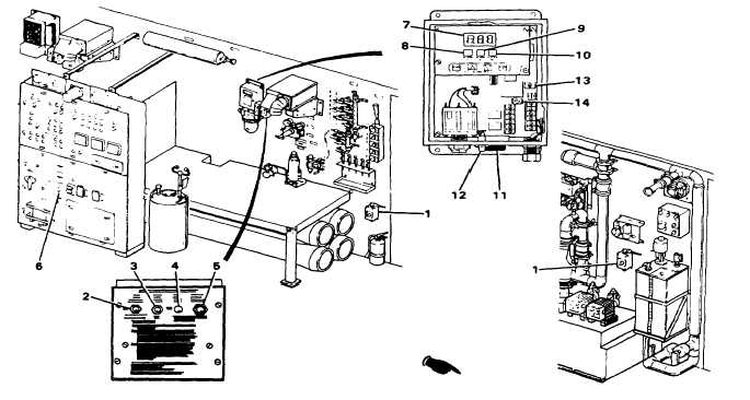 Figure 2-10, Diesel Heater Controls