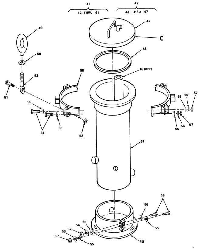 Figure 17. Cartridge Filter Assembly (Sheet 4 of 5