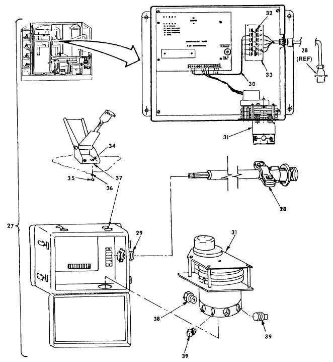 Figure 52. Multimedia Filter Backwash Timer Assembly