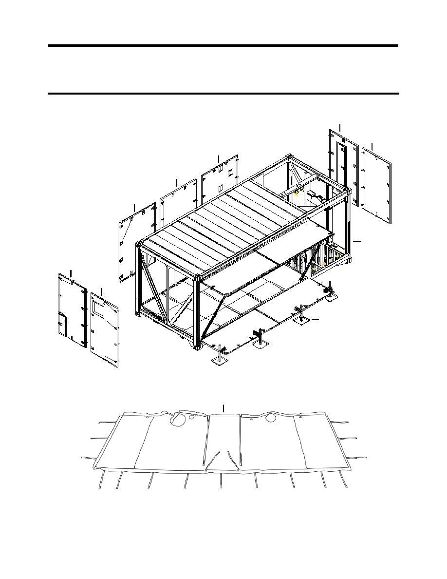 Figure 101. Flat Rack Assembly.