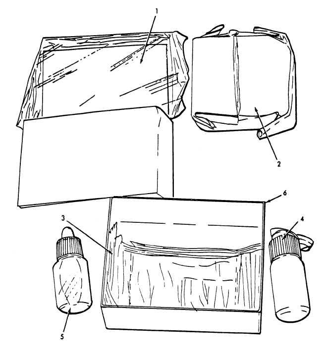 Figure C-15. Refill Kit, Chemical Agent Detector, V-G