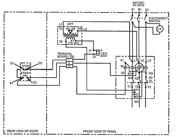 Figure 4-2. Cooling Pump Motor Controller Schematic