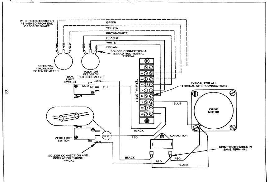Figure 13. Electric Capacity Control Wiring Diagram