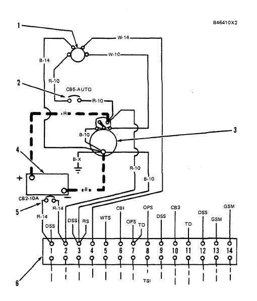 STARTING SYSTEM WITH ONE STARTER MOTOR