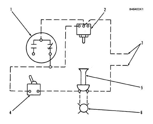 oil pressure switch wiring diagram single line autocad electrical tm 55 1930 209 14p 9 2 244