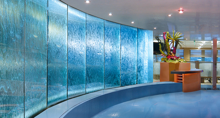 Indoor Water Wall Fountains  WaterfallNow