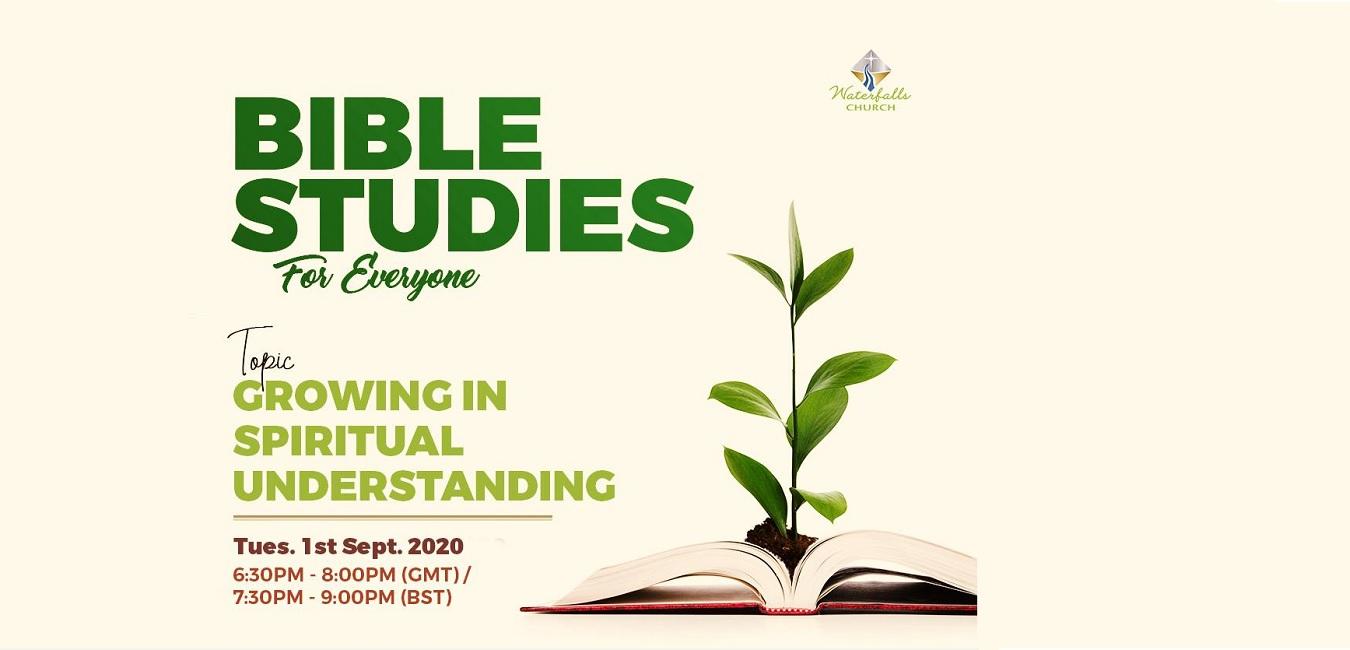 Growing in Spiritual Understanding