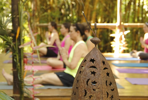 waterfall villas yoga retreat