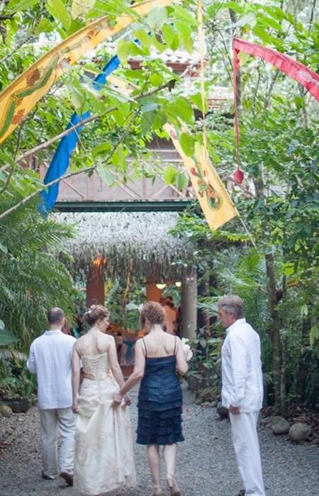 Waterfall Villas Group Wedding