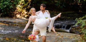 Weddings at Waterfall Villas