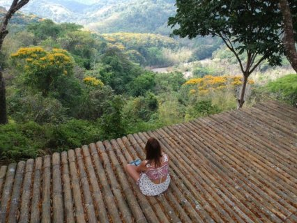 view at the Waterfall Villas