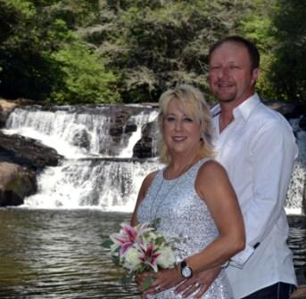 Elopements In Georgia - Dick's Creek Waterfall Wedding Location