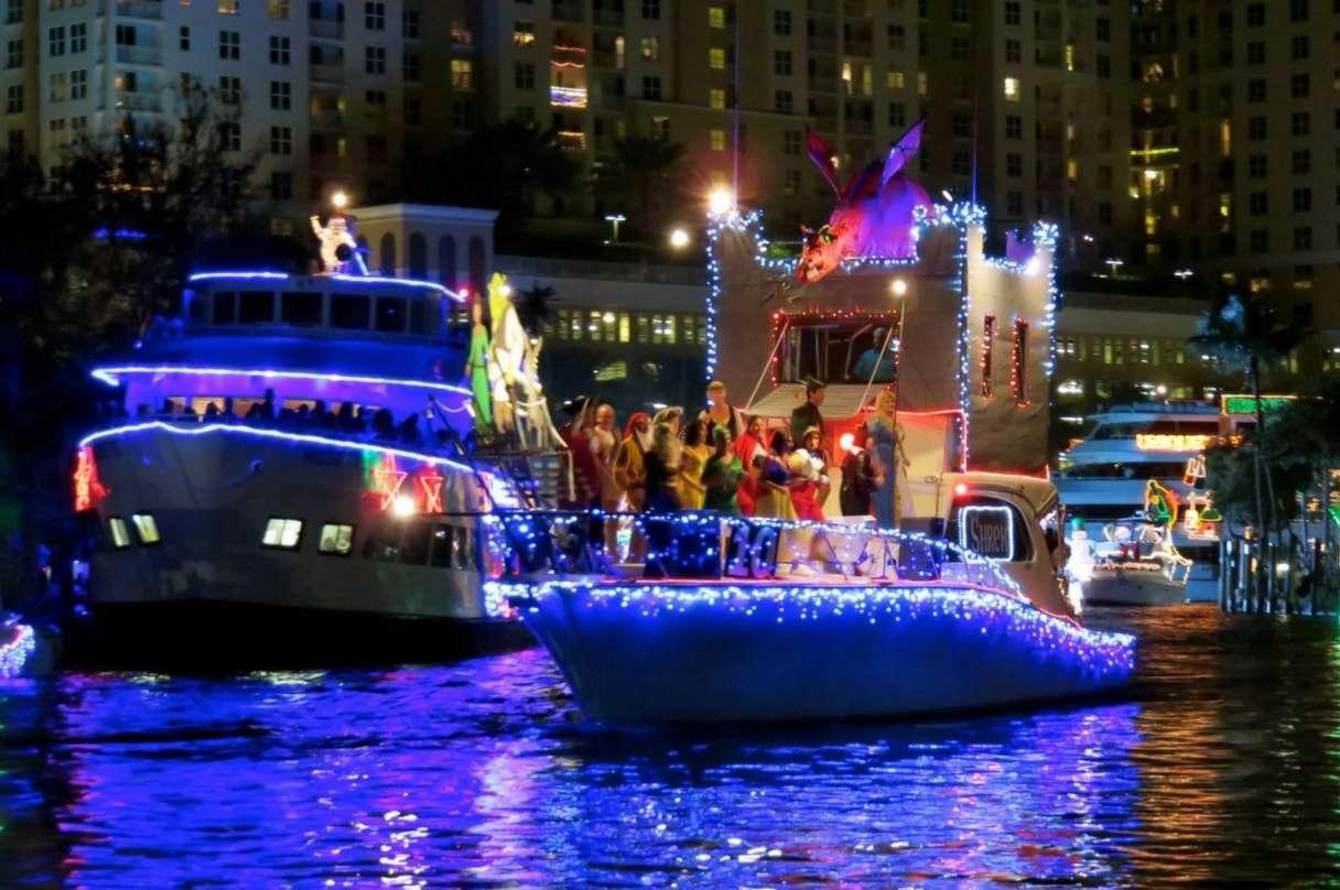 Ft Lauderdale Winterfest Boat Parade Water Fantaseas