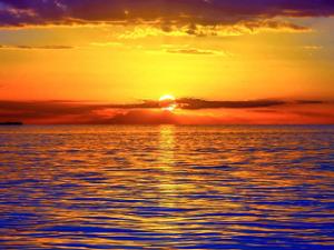 6 sunrise over the sea (widget)