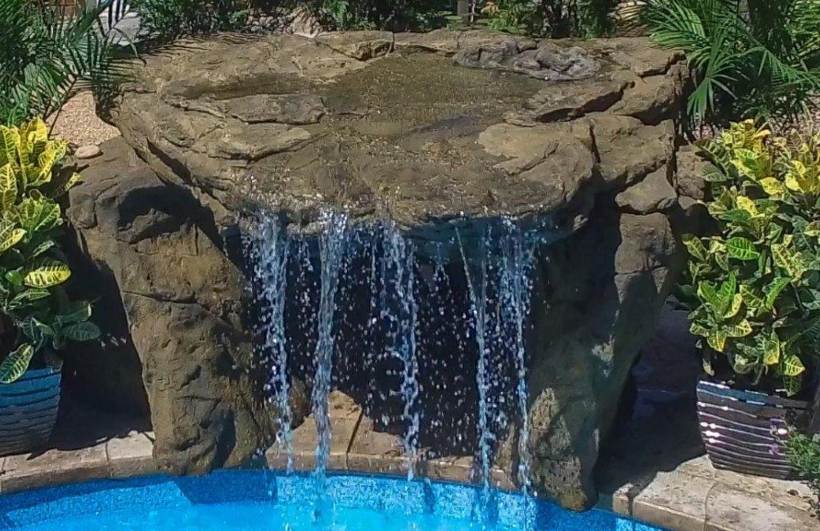 Cavern Falls Swimming Pool Grotto Waterfall Kit Erpk 220 4